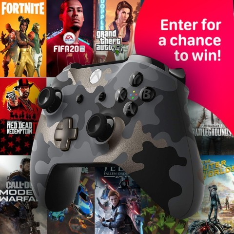 WIN- Xbox Wireless Controller - Night Ops Camo Special Edition