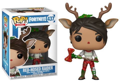 POP! VINYL GAMES: FORTNITE - RED-NOSED RAIDER - ONLY AT GAME £19.99!
