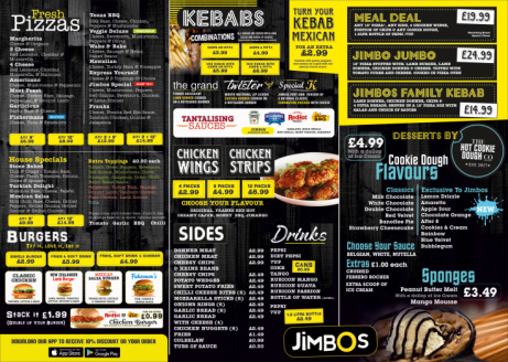 Check out our delicious menu!
