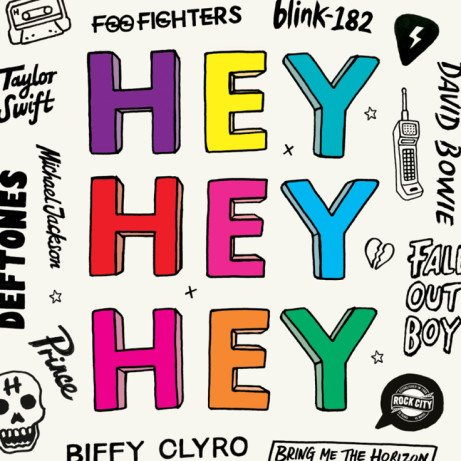 Join us for our HEY HEY HEY - Alternative Anthems Every Saturday Night!
