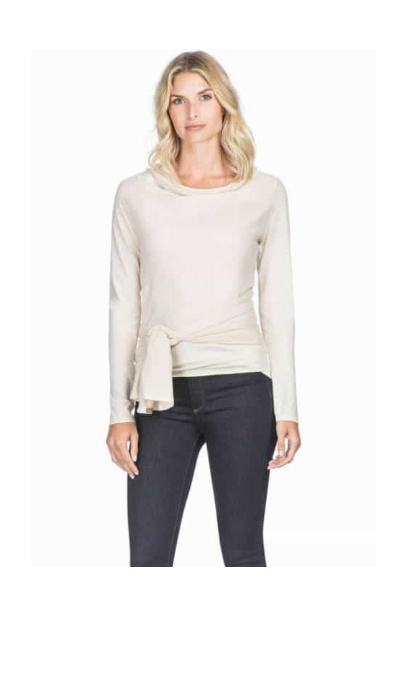Lilla P Origami Long Sleeve Wrap – Canvas: £68.00!