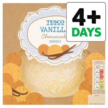 1/2 PRICE - Tesco Vanilla Cheesecake!