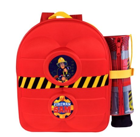 Fireman Sam Backpack With Pencil Case!