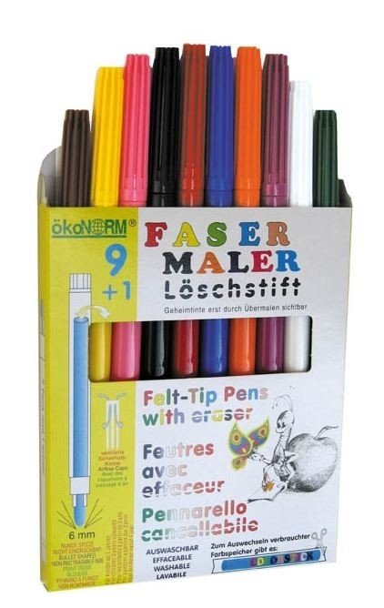 NEW IN - Water Soluble Felt-Tip Colour Pens £7.80