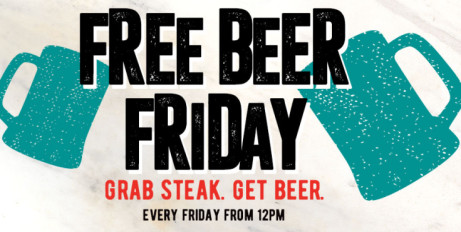 LUNCH at Flaming Grill and get a FREE BEER!