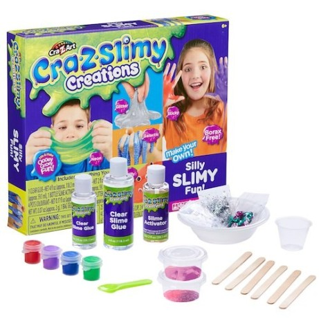 Cra-Z-Slimy Creations Silly Slimy Fun Kit just £19.99