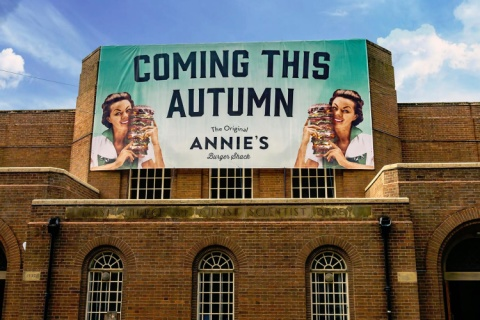 Annie's Burger Shack Derby will be OPENING SOON