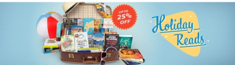 SAVE Up to 25% off hot holiday reads!