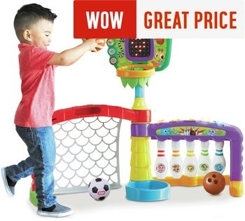 Great Gifts Ideas: Little Tikes 3-in-1 Sports Activity Centre JUST £38.99!