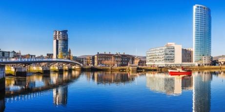 54% OFF Belfast: Riverside City Centre Hotel Escape for 2!