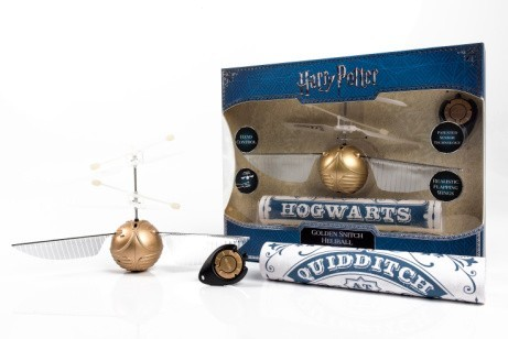 NEW - Harry Potter - Flying Goldern Snitch Heliball - ONLY £35!