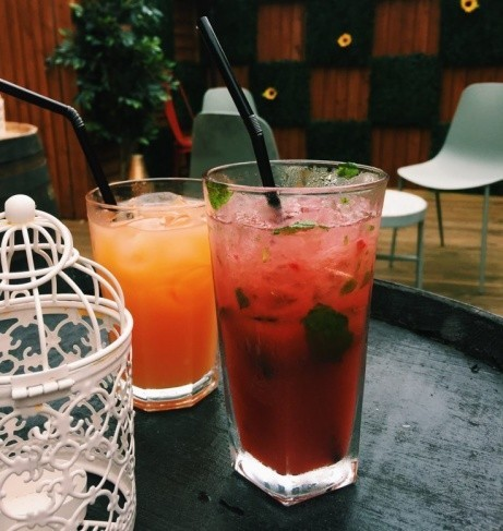 The weekend is here, join us in our cocktail garden!
