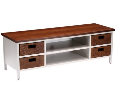 SAVE £170 on this TECHLINK Wicker TV Stand!