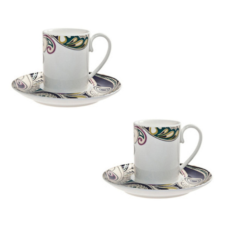 40% OFF Monsoon Cosmic Espresso Cup & Saucer Set!