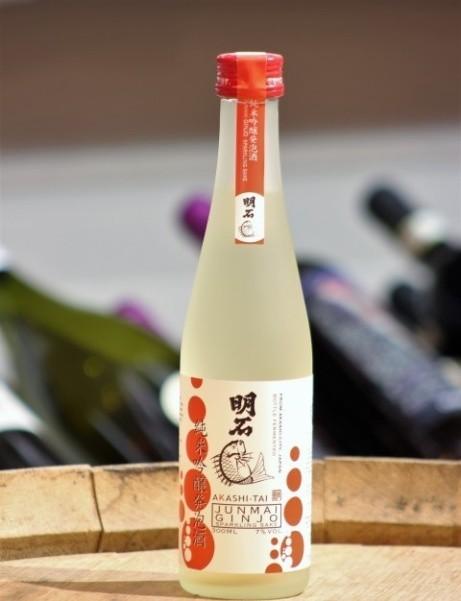 Try Junmai Ginjo Akashi-Tai, Sparkling Sake for just £14.95 each!