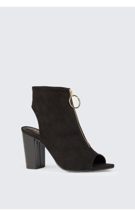 RING PULL SHOE BOOT BLACK:  £22.99!