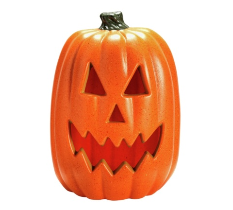 SHOP HALLOWEEN DECOR - Halloween Light up Pumpkin, Large £13.00!