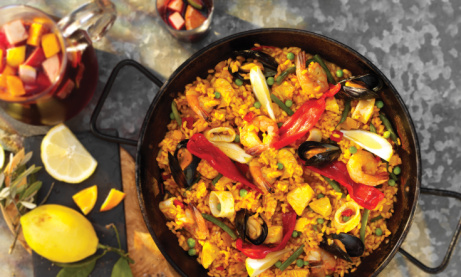 Paella for 2 + Jug of Sangria for £19 - All Day Sunday - Wednesday!