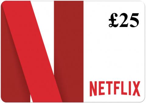 WIN - £25 Netflix Gift Card