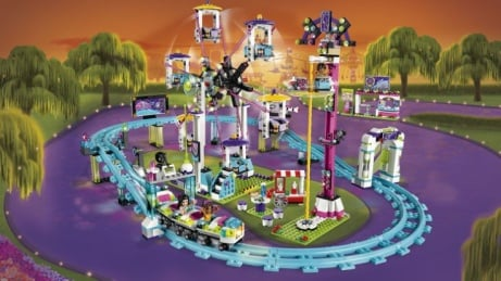 30% OFF this LEGO Friends Amusement Park Roller Coaster!