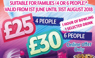 [Summer Package] Family – All In One from just £25.00!