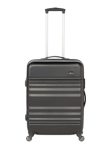 SAVE 70% on this LINEA Weston Black 4 Wheel Hard Medium Suitcase!