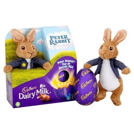 Cadbury Dairy Milk Peter Rabbit Egg £6.00!