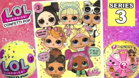 PRE-ORDER NOW - L.O.L. Surprise! Series 3 Confetti Pop - £11