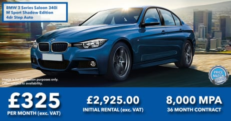 BMW 3 Series 340i M Sport Shadow Edition Step Auto | Business Leasing Offer