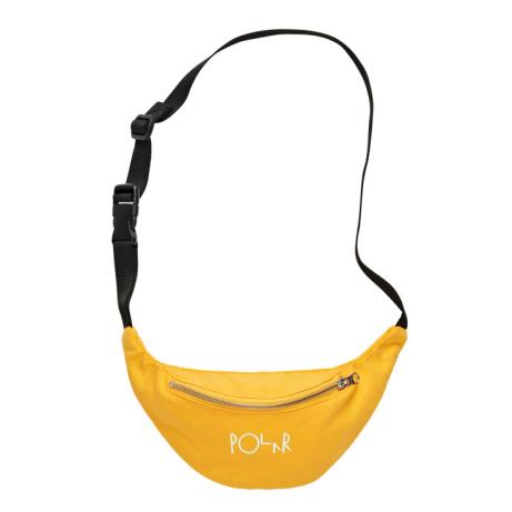 Polar Script Logo Hipbag Yellow - £28.00!