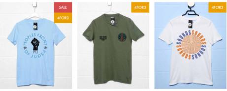 Buy 3 T-Shirts Get 1 FREE