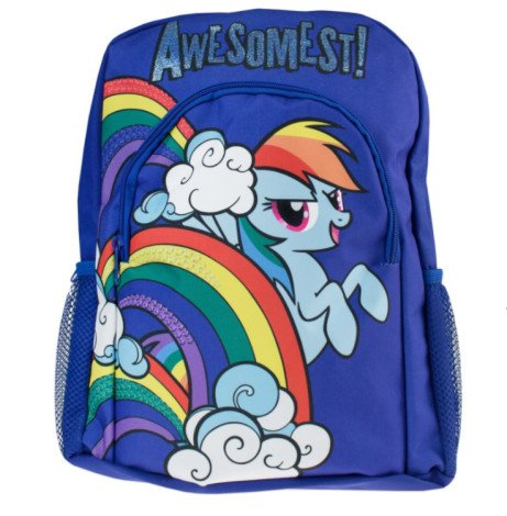 SAVE 61% on this My Little Pony Rainbow Dash Backpack!