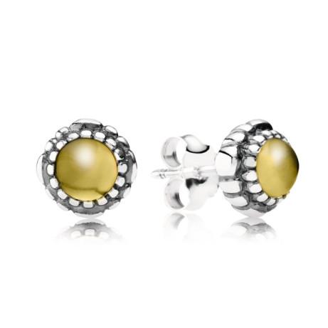 November Birthstone Stud Earrings with 33% OFF - £30.00!