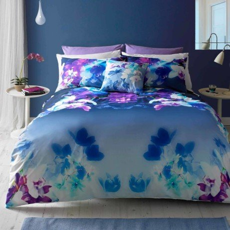 HALF PRICE! Lipsy Digitally Printed 100% Cotton Duvet Cover and Pillowcase Sets - from £27.50