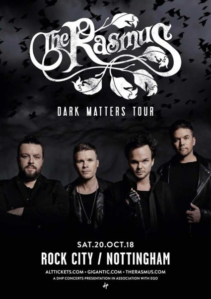 Tickets Now on Sale for THE RASMUS.