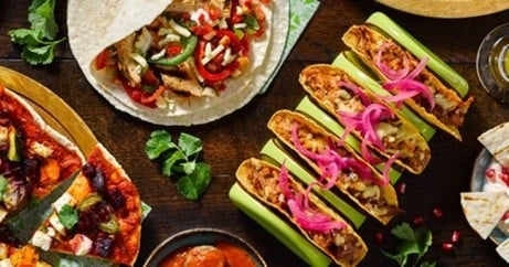 At Chiquitos, you can build your won, Chimichanga, Burritos and Tacos!