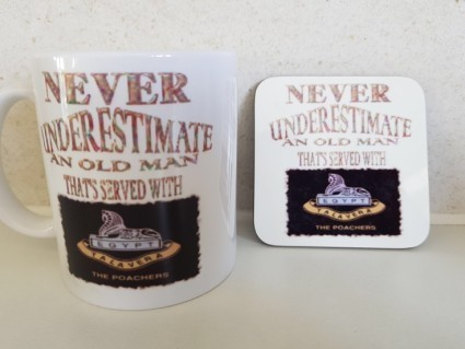 Mug and coaster package