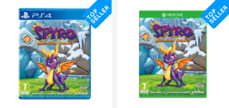 NEW GAME - Spyro Reignited Trilogy - SPECIAL PRICE ONLY £29.99!