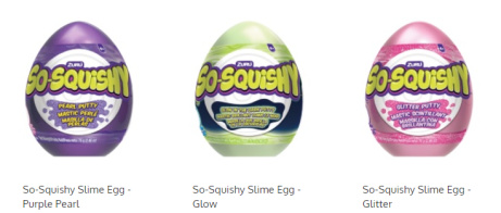 SAVE OVER 35% on So Squishy Slime Eggs!