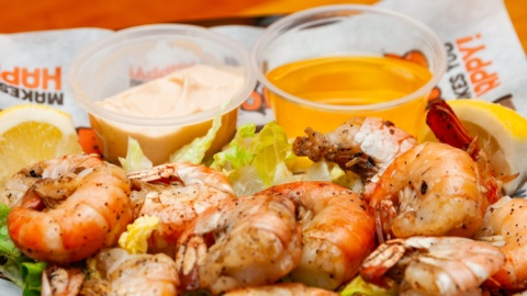 Delicious food here at Hooters of Nottingham is shrimply the best