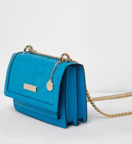Trending Product - Blue cross body chain bag £28.00!
