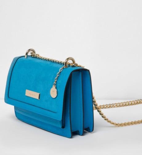 Trending Product - Blue cross body chain bag £28.00!