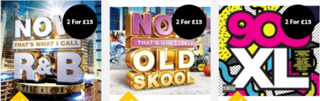 2 FOR £15 - CD Compilations