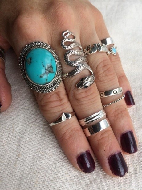 Huge selection of sterling silver rings, why not treat yourself!