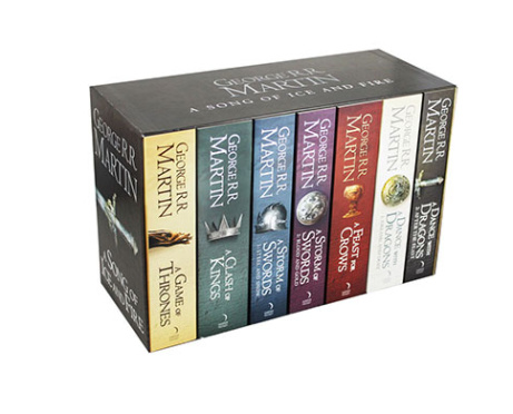 WIN - Game Of Thrones 7 Book Box Set - Worth £65