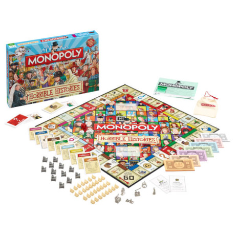 SAVE 40% OFF Monopoly Horrible Histories Edition!