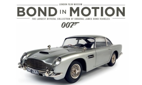 1/2 PRICE Visit to Bond in Motion at the London Film Museum!