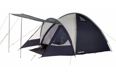 SAVE 60% OFF This Halfords 4 Person Double Skin Tent!