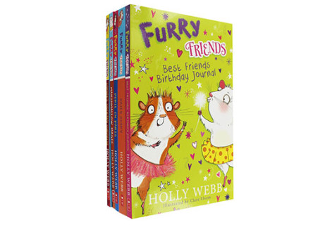 Holly Webb Furry Friends - 5 Book Collection - SAVE 73%