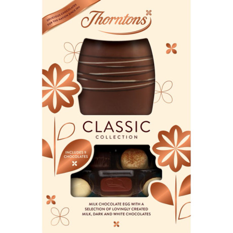 Thorntons - Classic collection gift eggs - HALF PRICE!